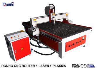 Chiny Red Colour CNC Router Wood Carving Machine, Industrial CNC Router Table dostawca